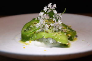 Avocado salt cod with jalapeño and sesame_Trois Mec_Krissy Lefebvre